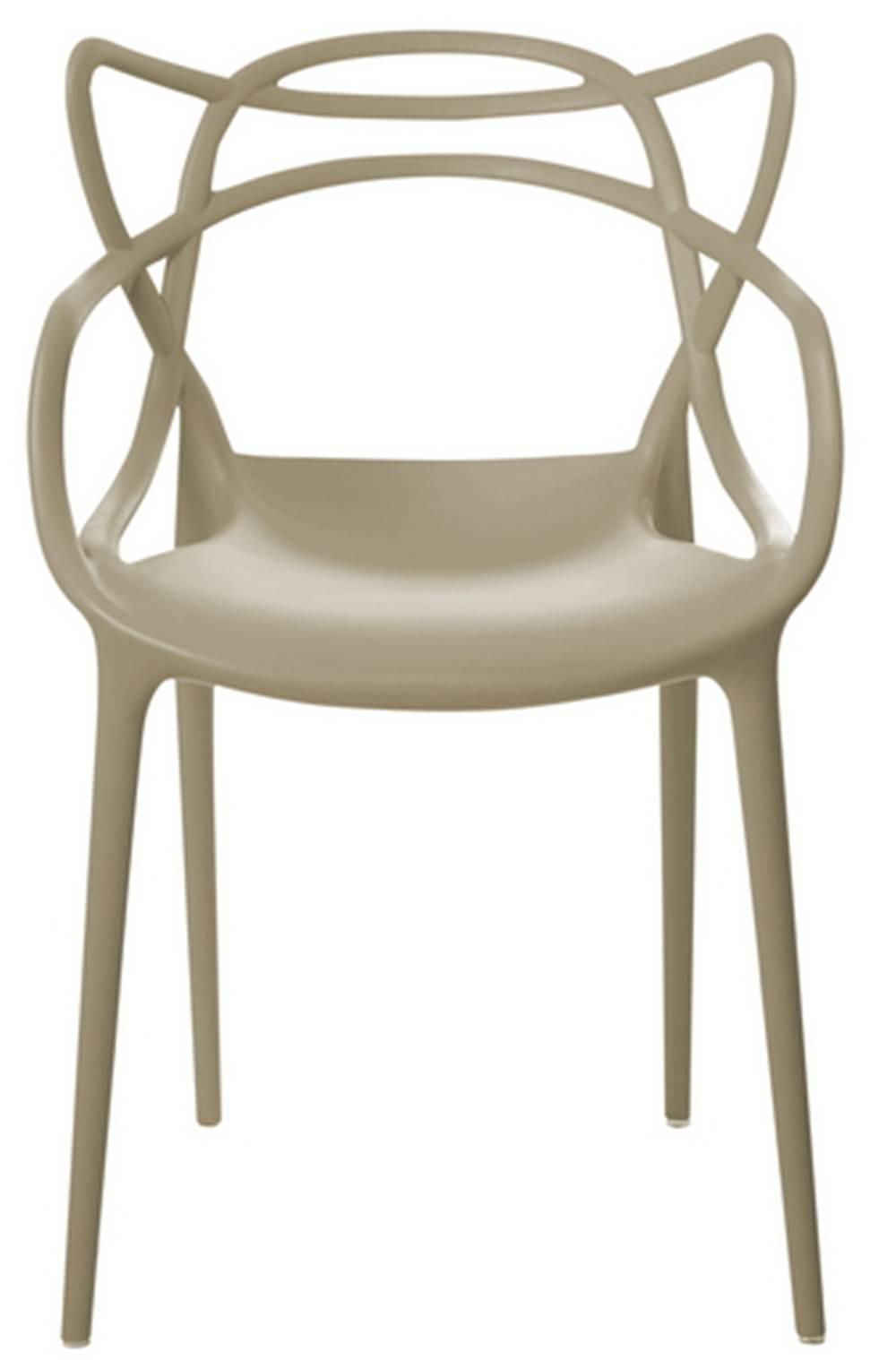 Cadeira Master Allegra Polipropileno Nude - 23148