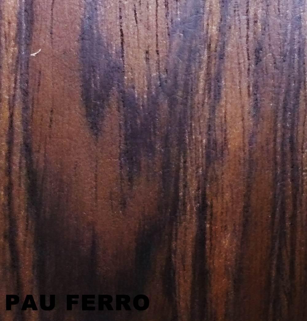 Poltrona Charles Eames Pau Ferro Couro Natural Branco 26565