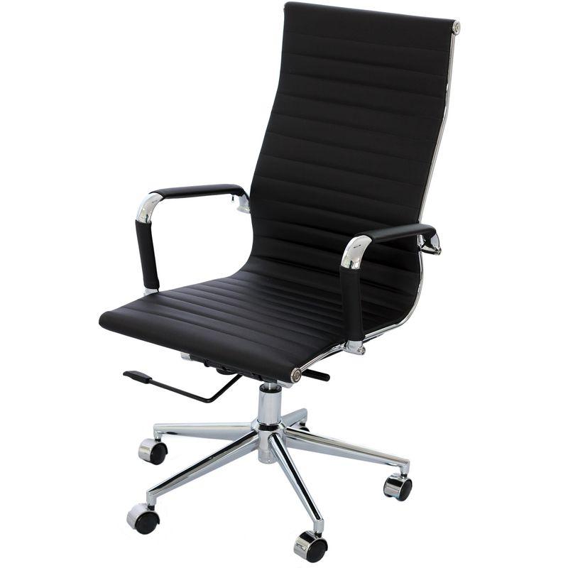 Cadeira-Eames-Alta-Preta-Base-Cromada