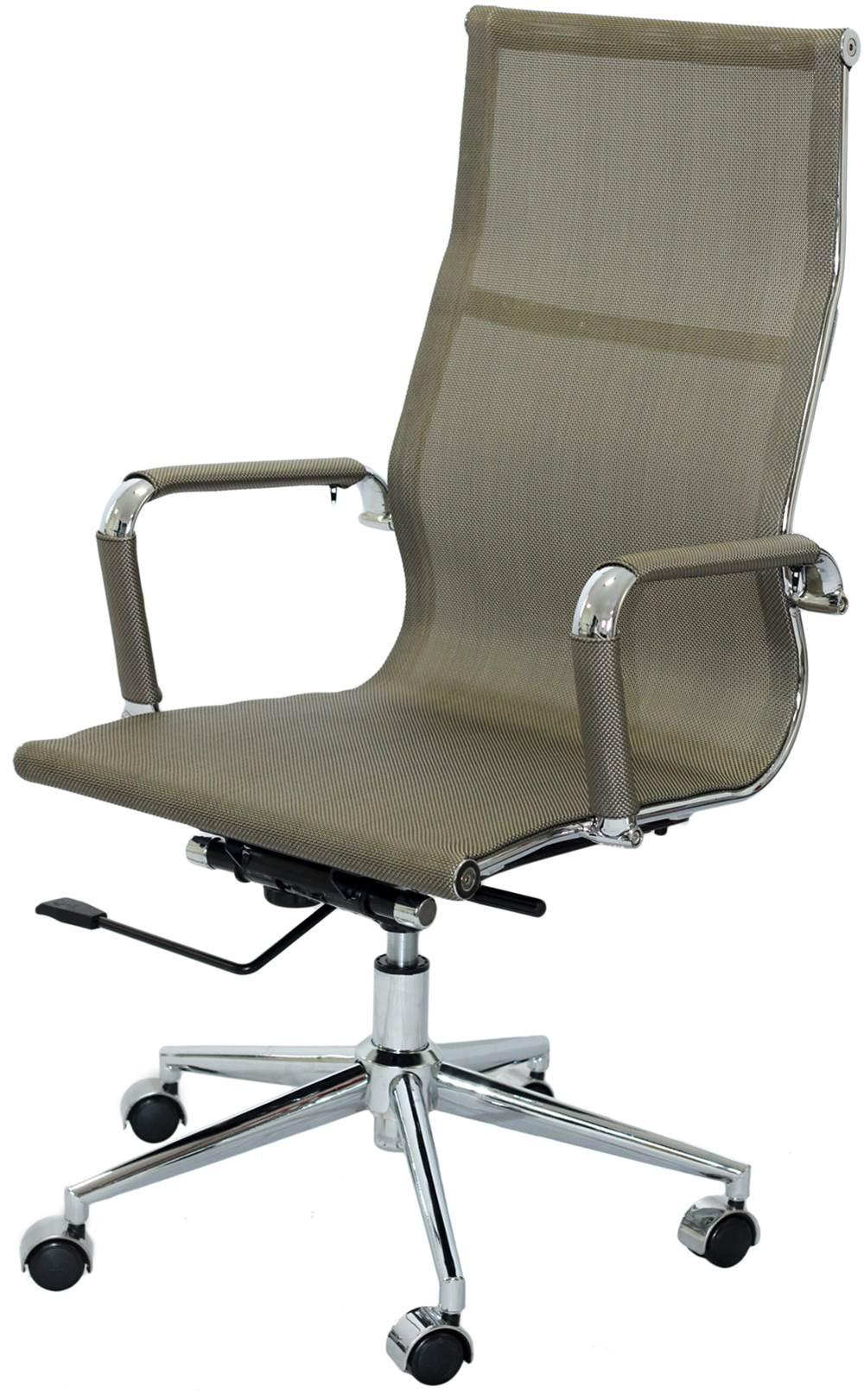 Cadeira Eames Telinha Alta Cobre Cromada - 16793