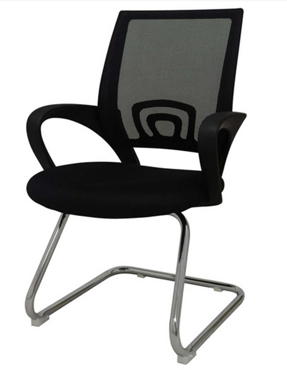 Cadeira Office Santiago Fixa em Nylon Preto - 27697