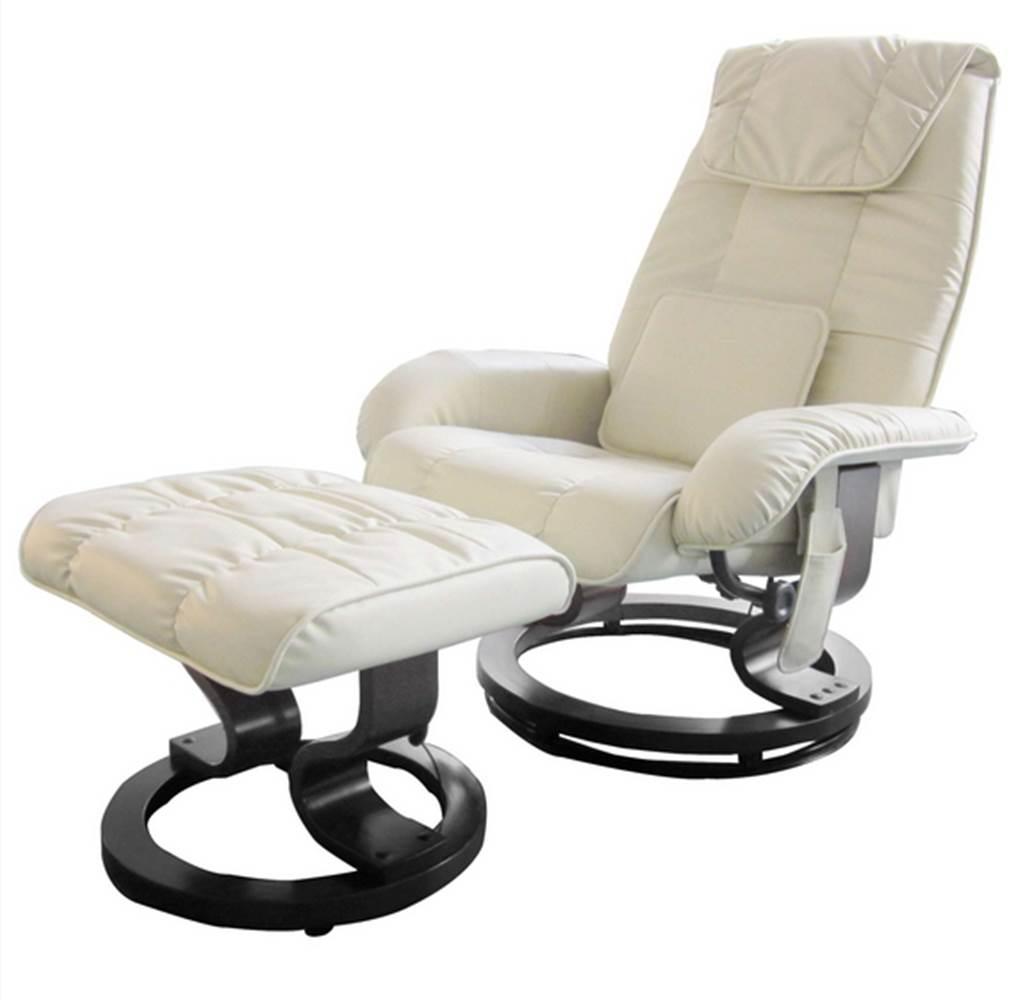 Poltrona de Massagem Louisiana Courissimo Creme - 11443
