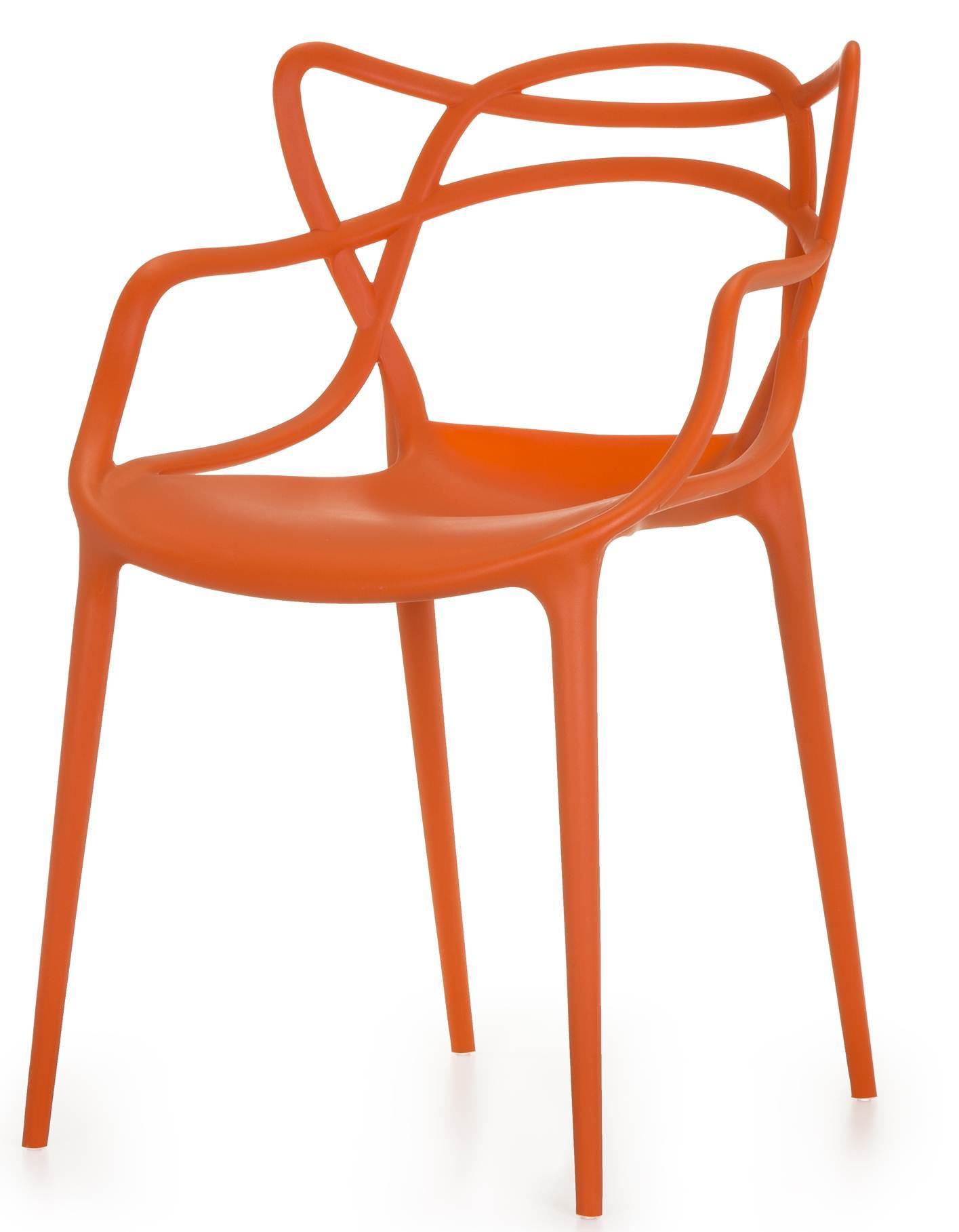 Cadeira Master Allegra Polipropileno Laranja - 25870