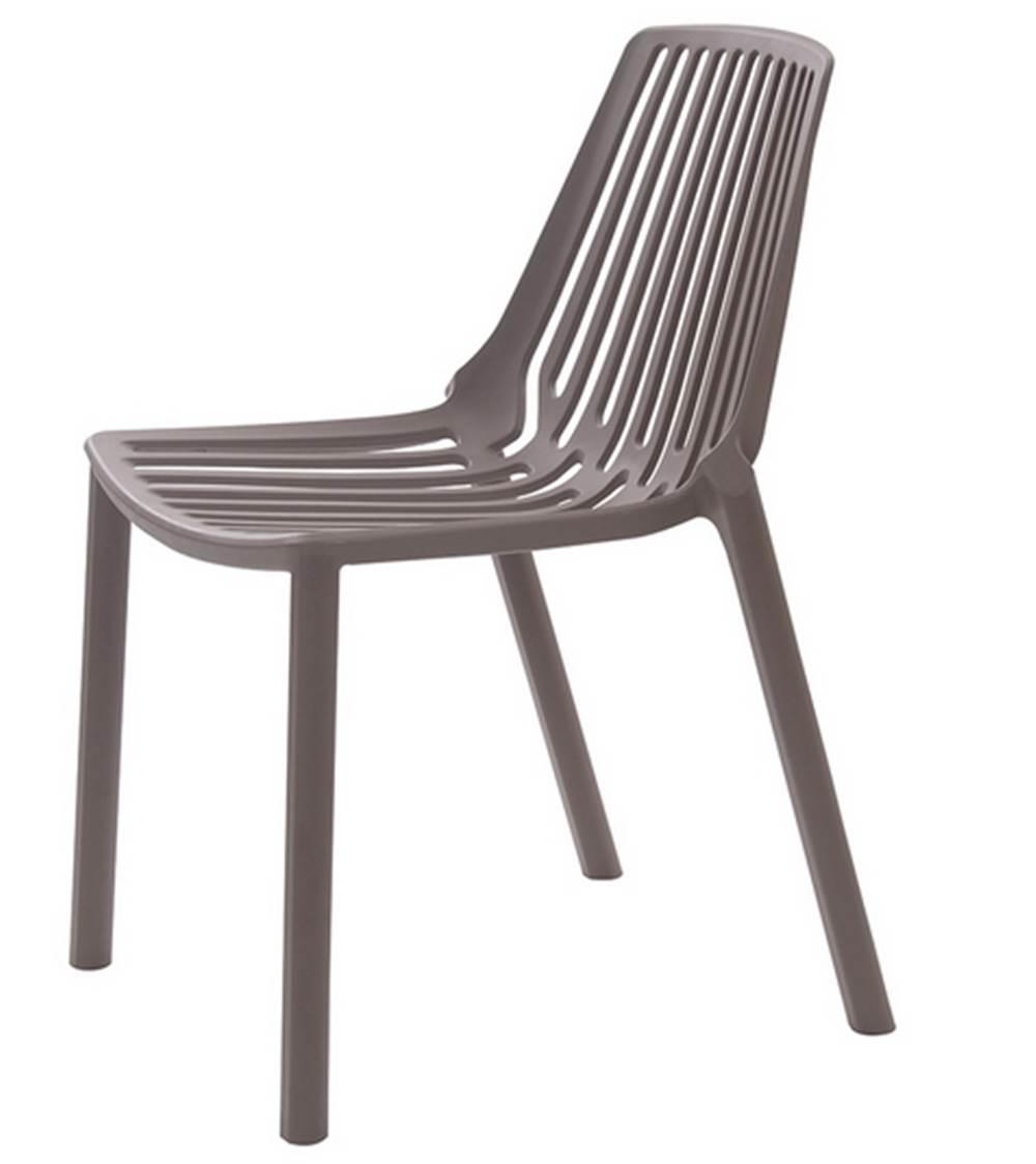 Cadeira Morgana Polipropileno Cor Cinza Medio - 29954