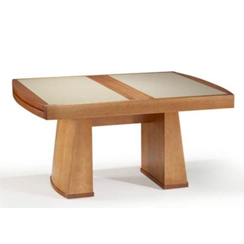 Mesa-Ilhabela-160cm-Amendoa-Vidro-Fendi