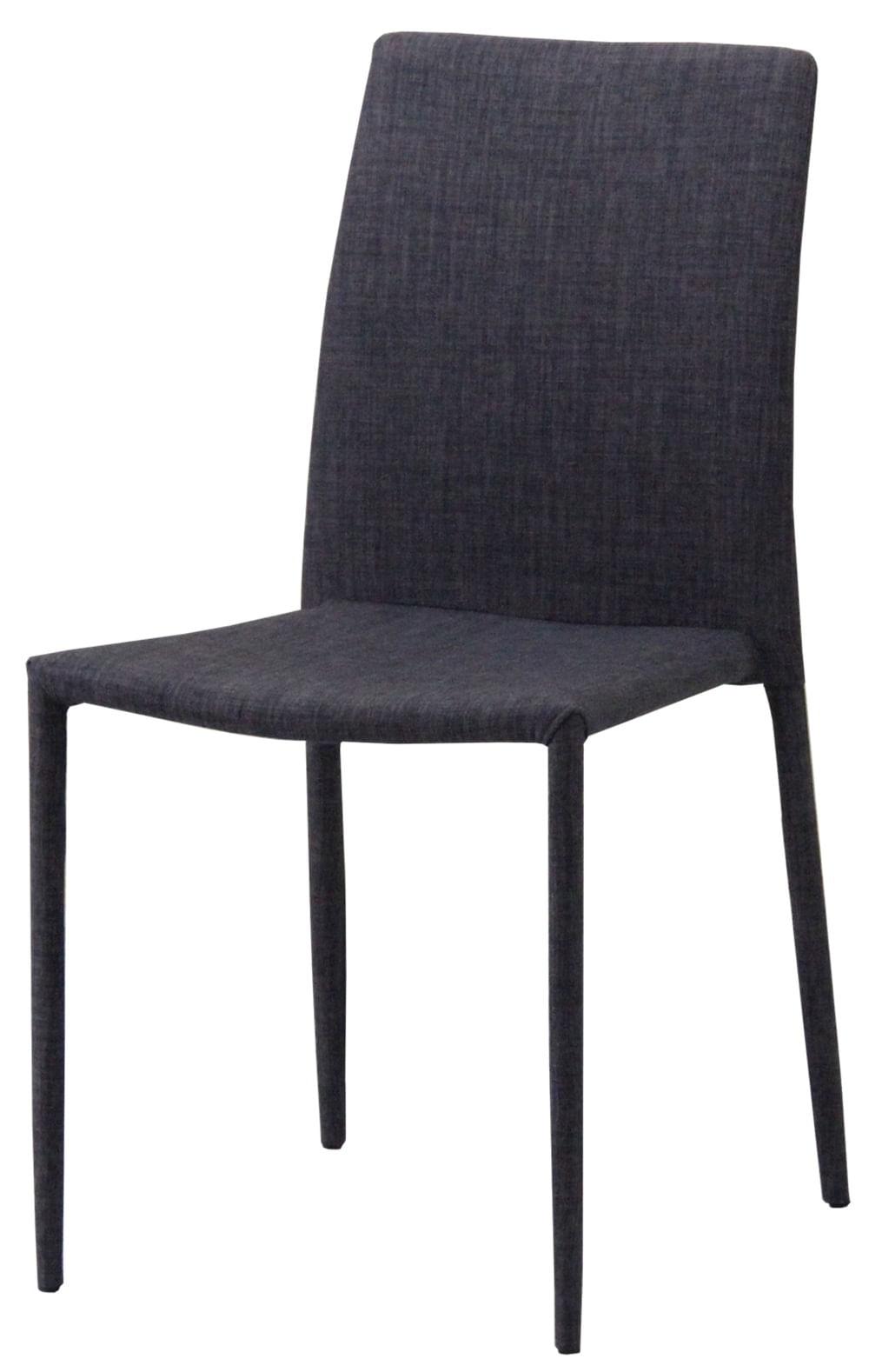 Cadeira Indonesia Estofada Tecido Sintetico Marrom - 30747