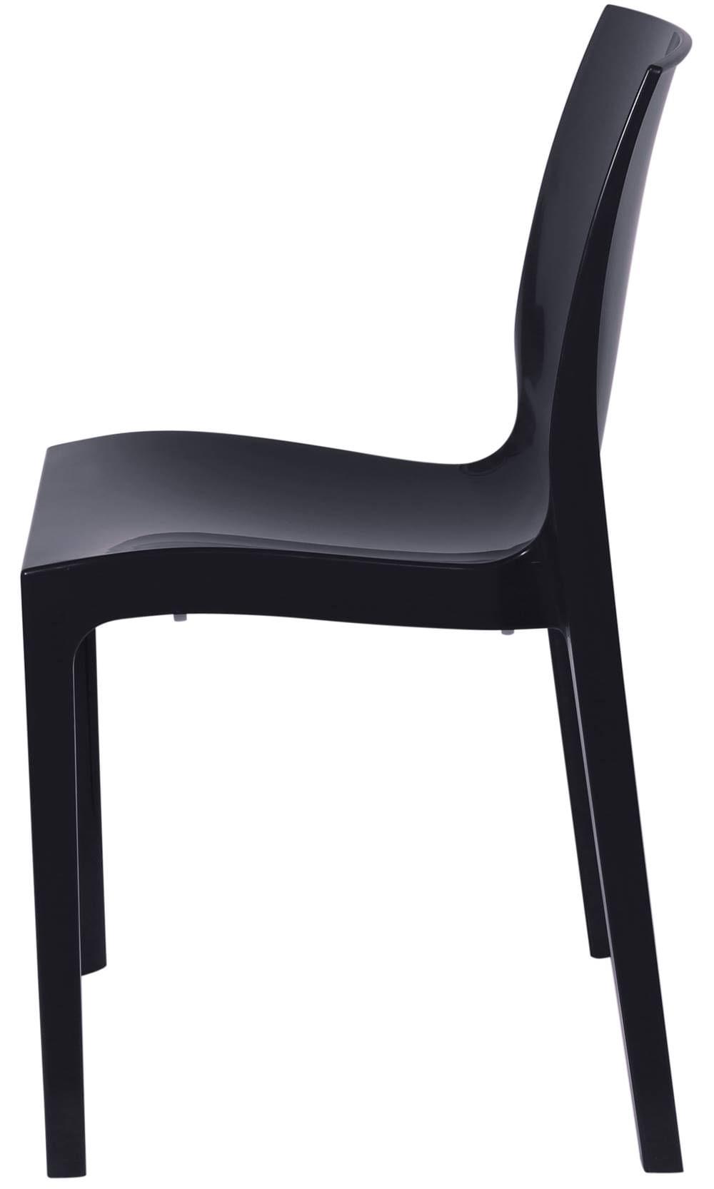 Cadeira Ice Polipropileno Preta - 16779