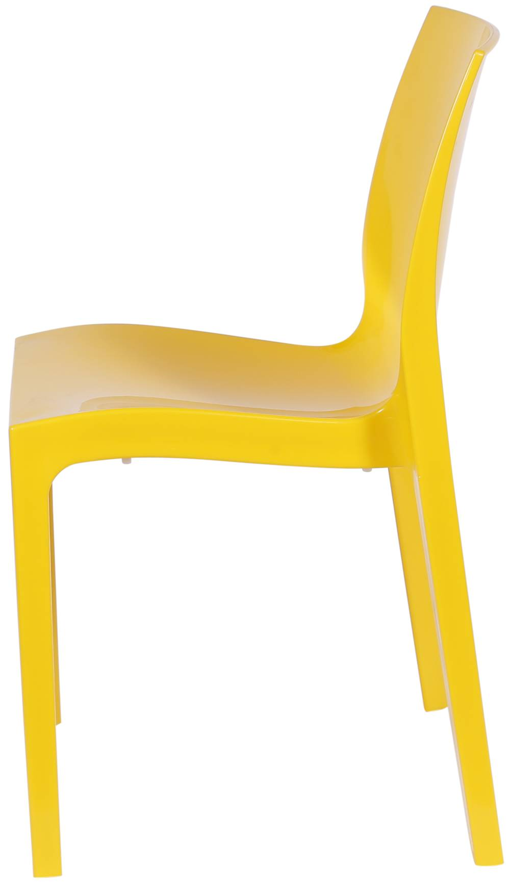 Cadeira Ice Polipropileno Amarelo - 22720