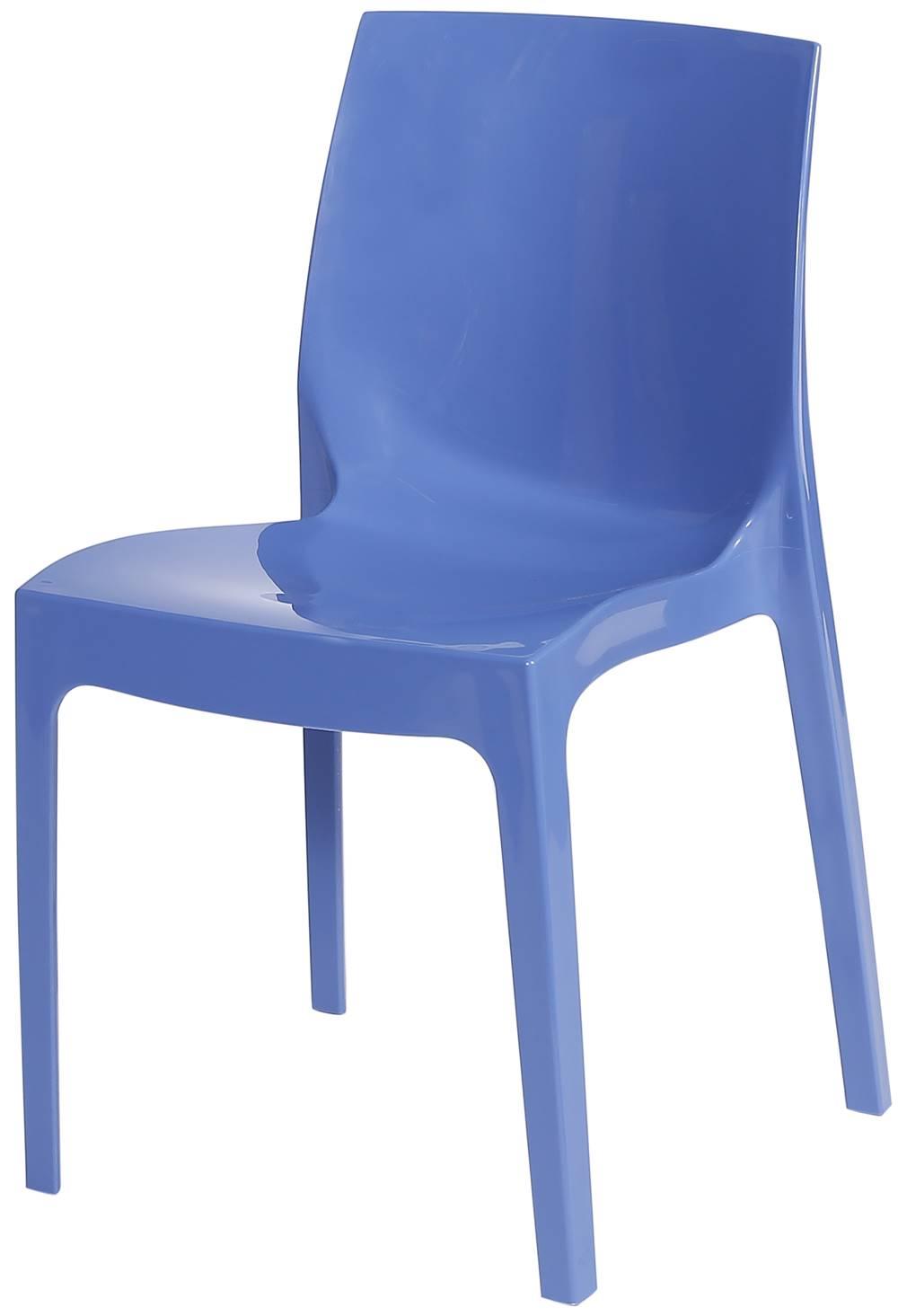 Cadeira Ice Polipropileno Azul - 23077