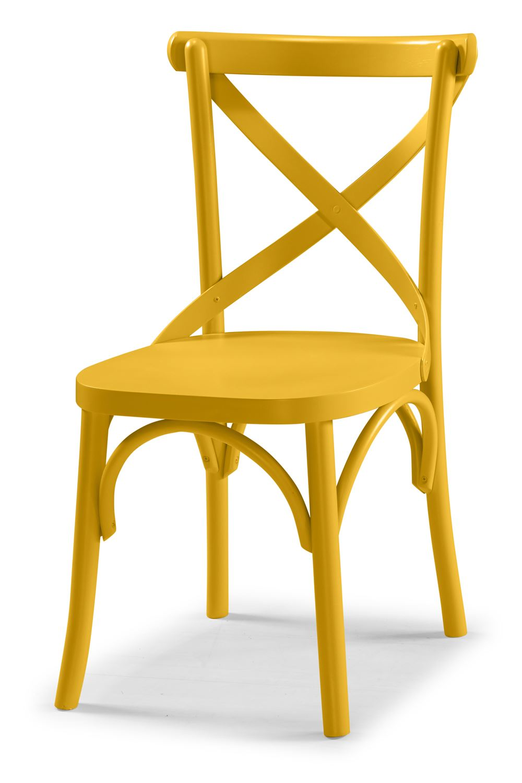 Cadeira X Cor Amarelo - 31323