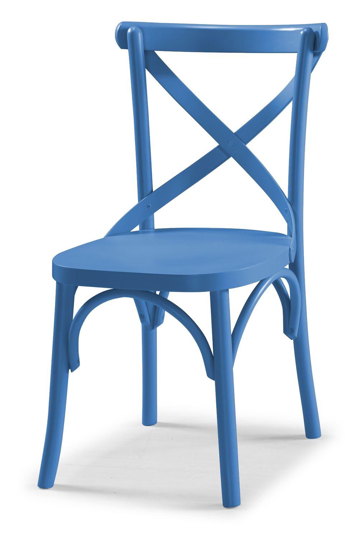 Cadeira X Cor Azul - 31327