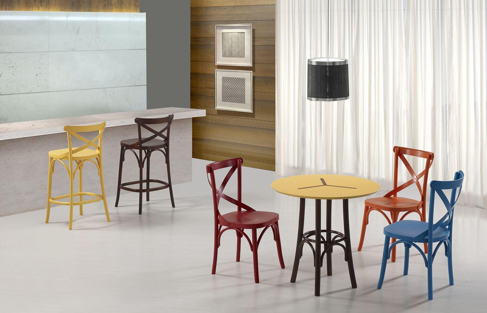 Cadeira X Cor Imbuia - 31335