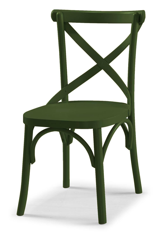 Cadeira X Cor Verde Escuro - 31336