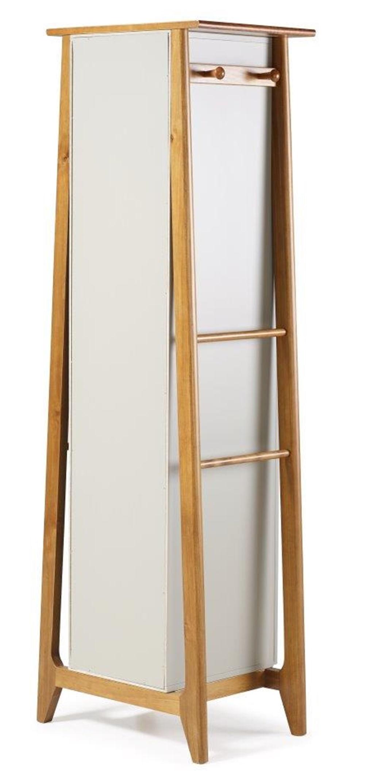 Armario Multiuso Stoka Cor Amendoa Com Branco - 31591