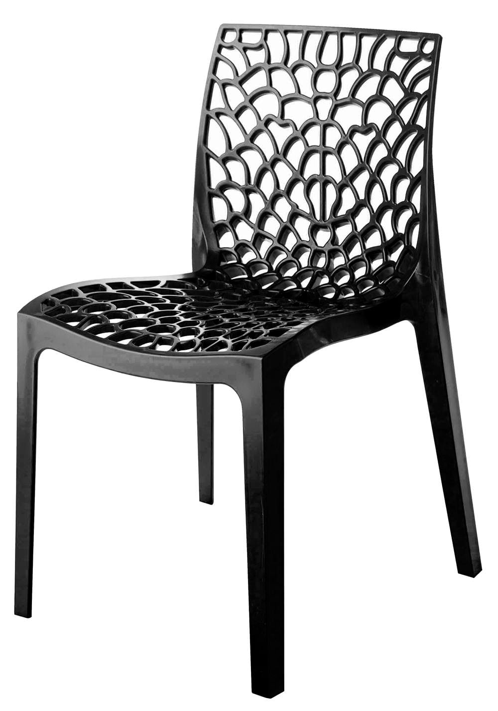 Cadeira Gruvyer Polipropileno Cor Chumbo - 31629