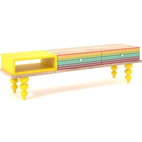 Rack-Style-Rainbow-Laca-2-Gavetas-160-MT---32274