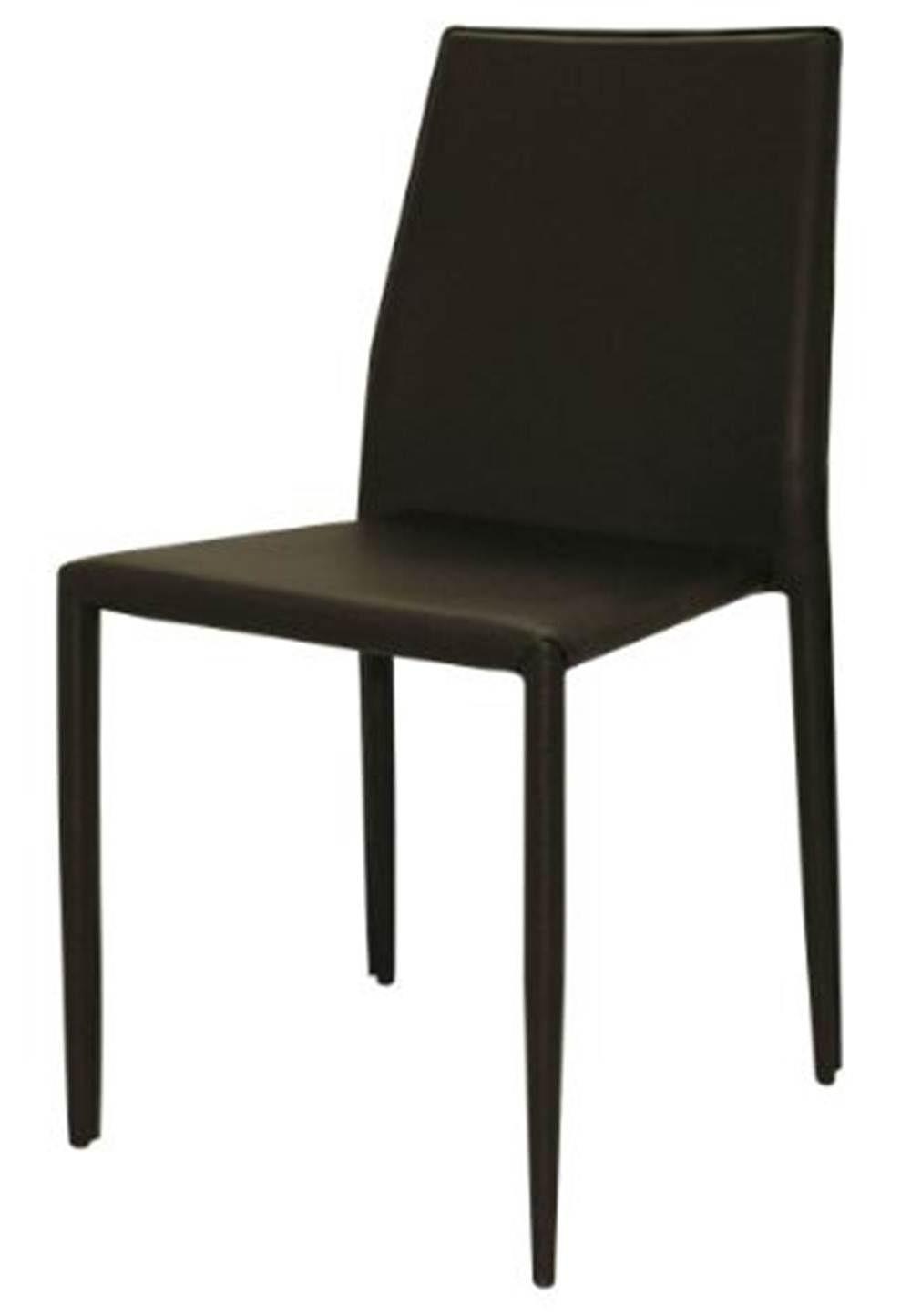 Cadeira Amanda 6606 em Metal PVC Marrom - 32868
