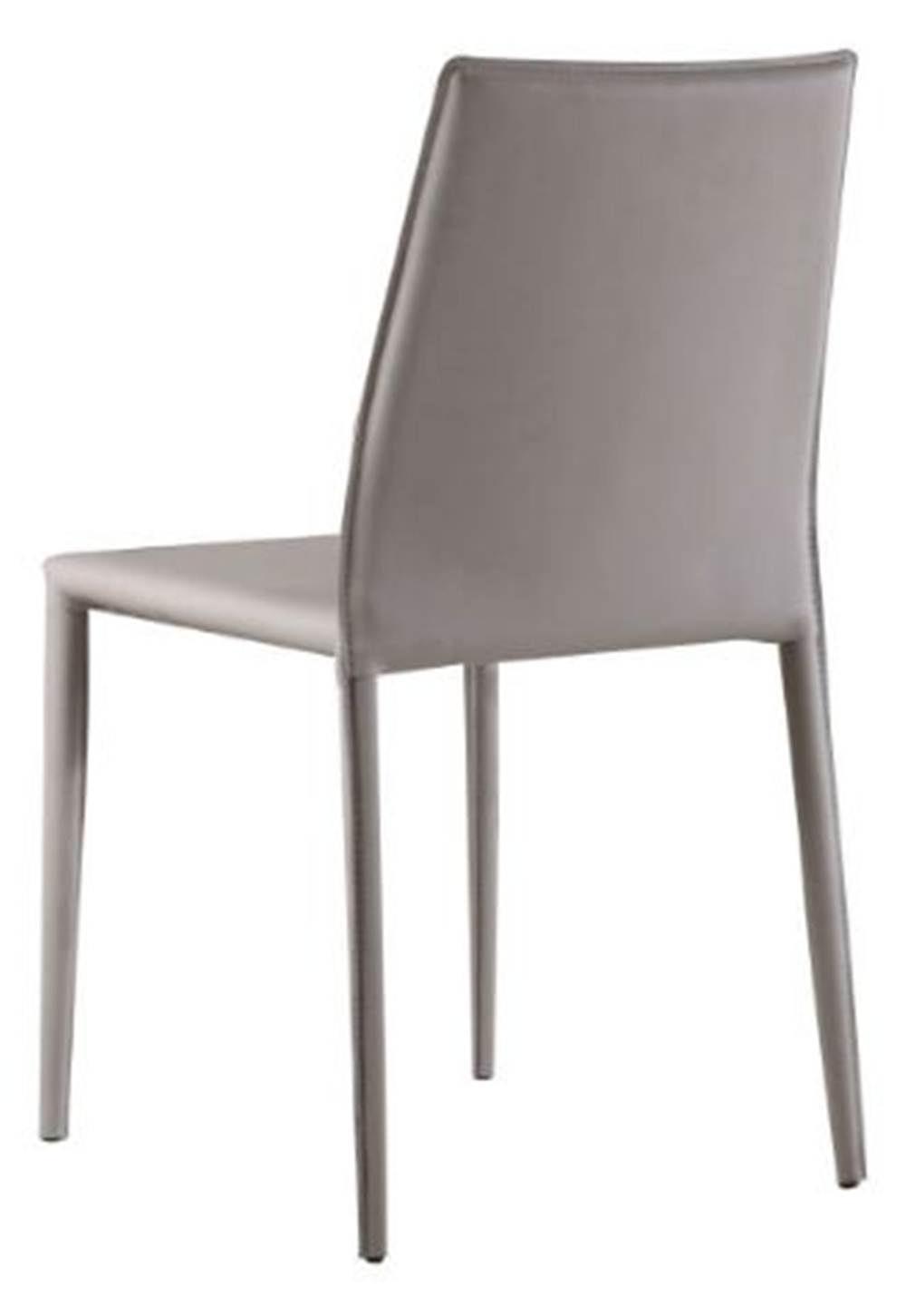 Cadeira Amanda 6606 em Metal PVC Nude - 32869