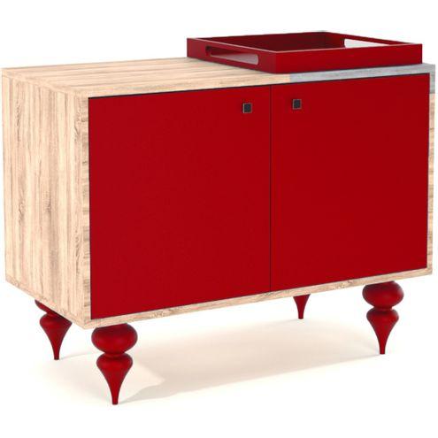 Buffet-Majal-2-Portas-em-Laca-cor-Vermelha-90-cm---32864