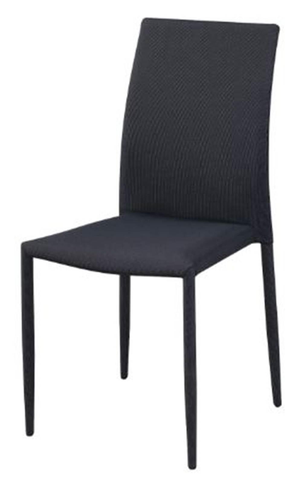Cadeira Amanda 6606 Tecido Cinza com Preto - 32876