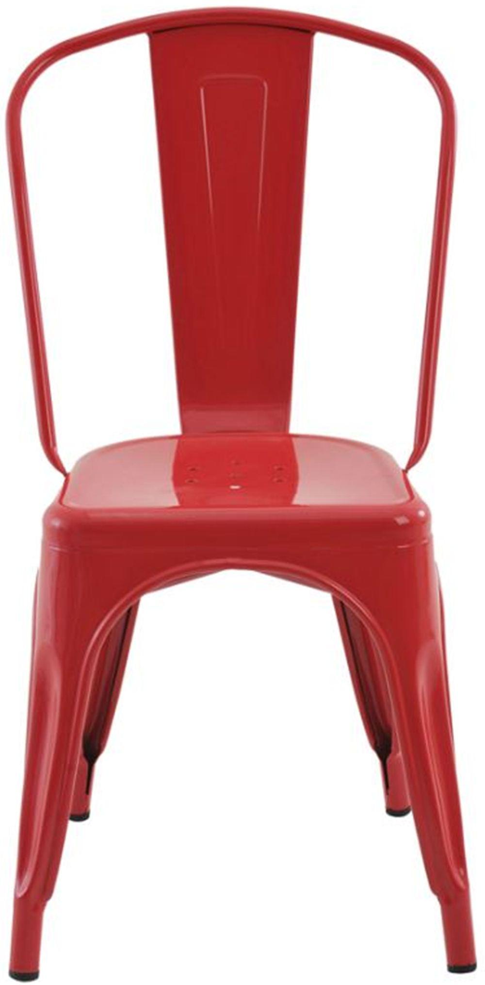 Cadeira Iron Tolix Vermelho - 16652