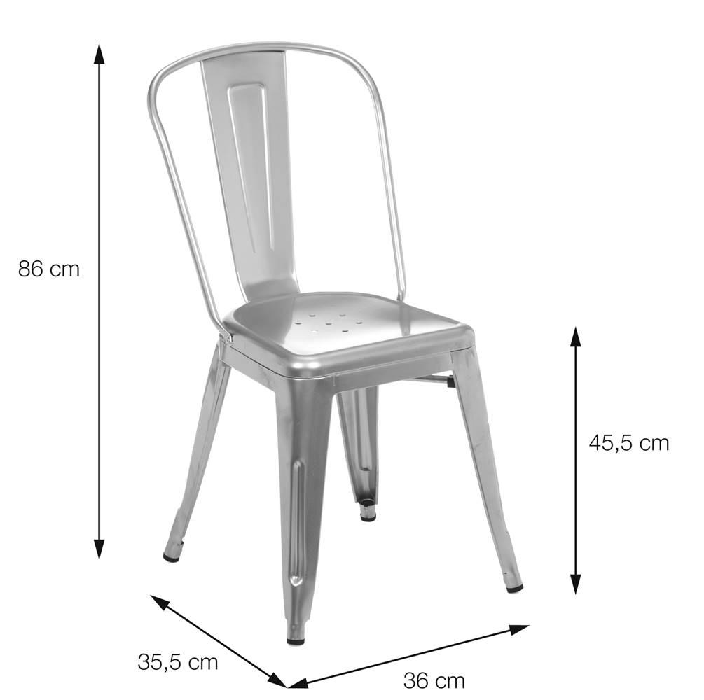 Cadeira Iron Bronze - 32946
