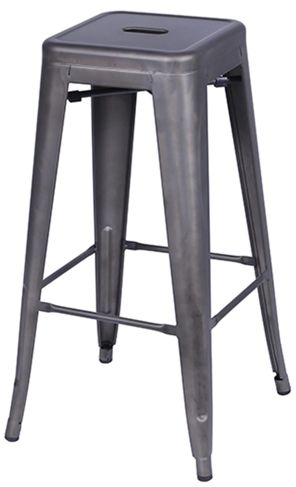 Banqueta Industrial Iron Bronze Alta 76 cm (ALT) - 32947
