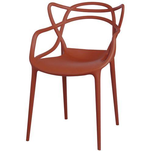 Cadeira-Master-Allegra-Polipropileno-Laranja-Telha---34301