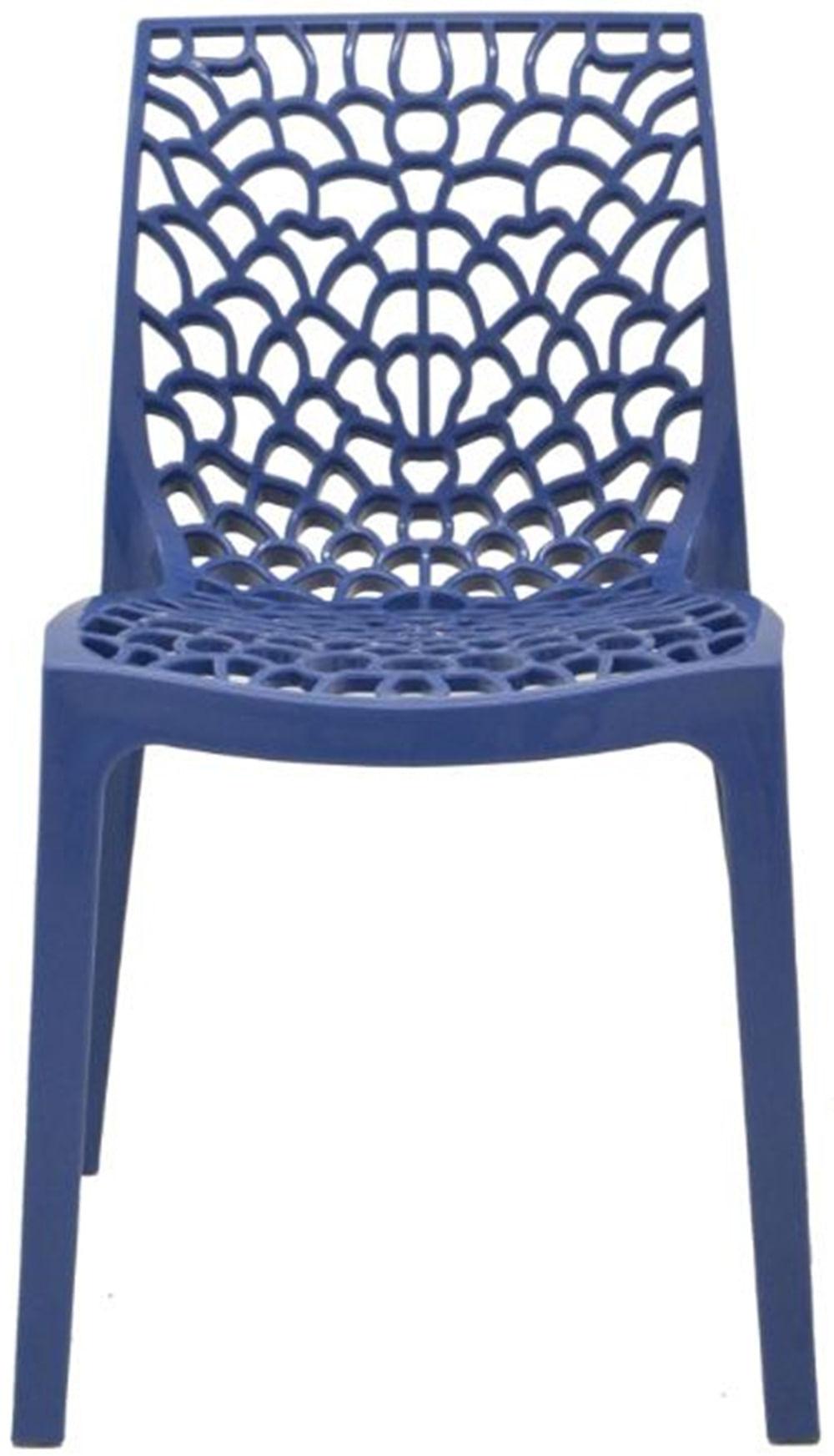Cadeira Gruver Polipropileno Azul Avio - 34330