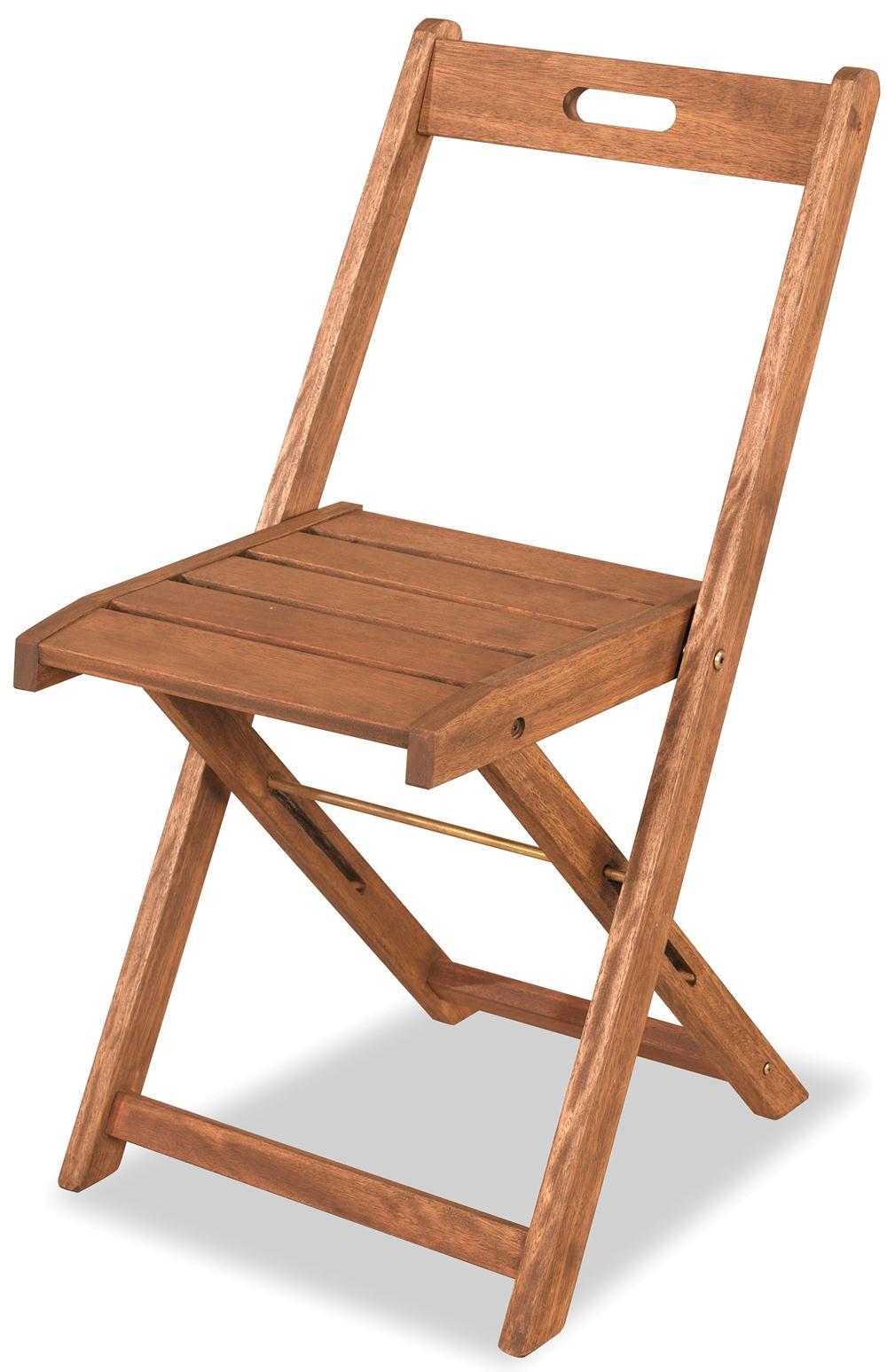Cadeira Dobravel Economica Stain cor Jatoba - 34557