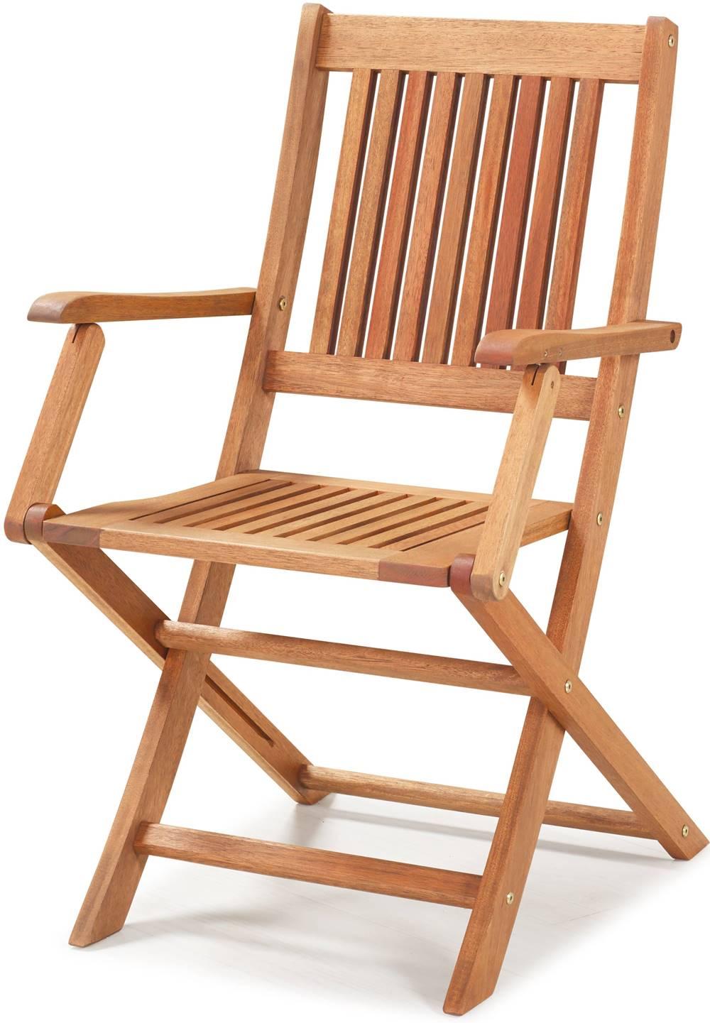 Cadeira Dobravel Primavera Com Bracos Stain Jatoba - 34807