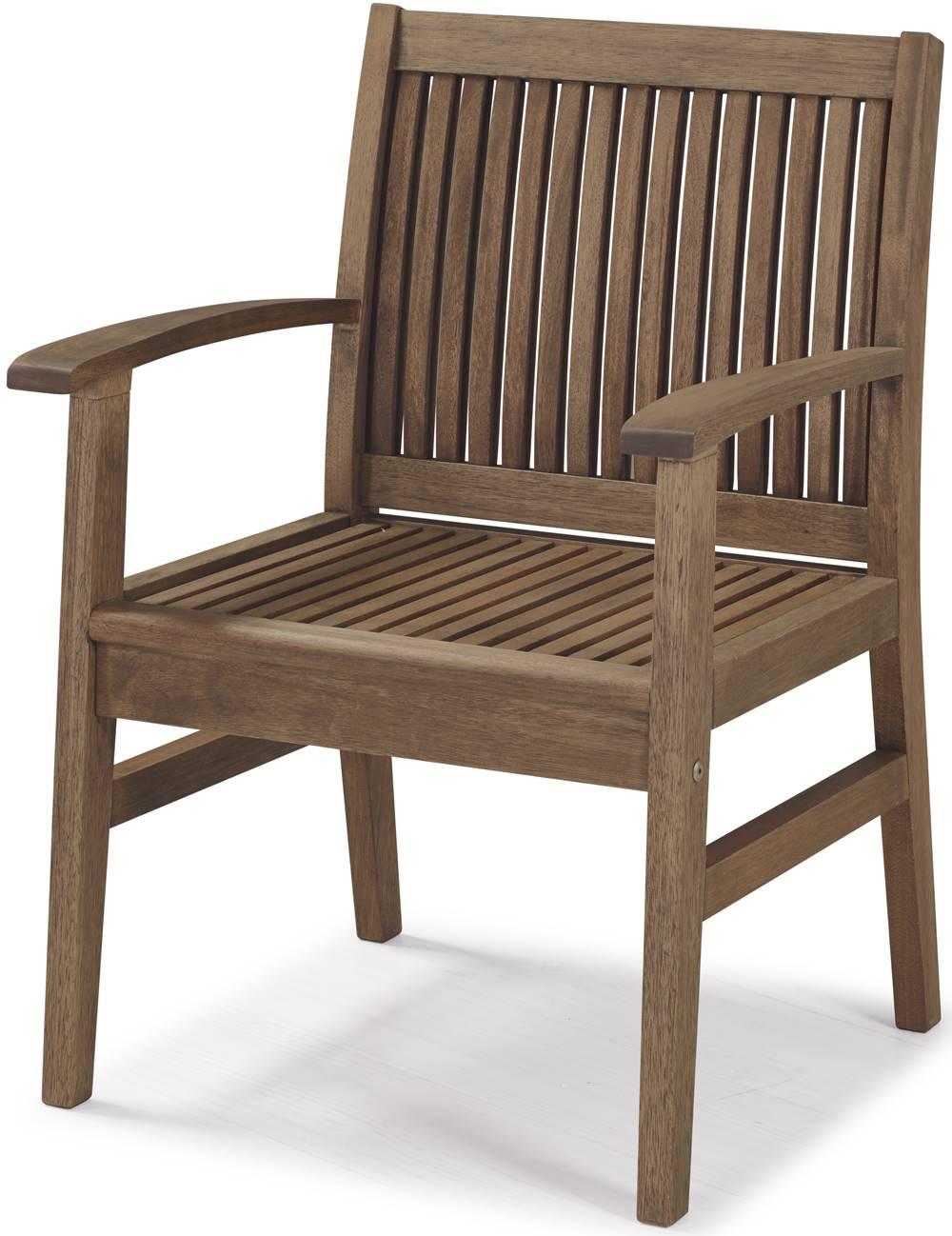 Cadeira Com Bracos Primavera Stain Castanho - 34890