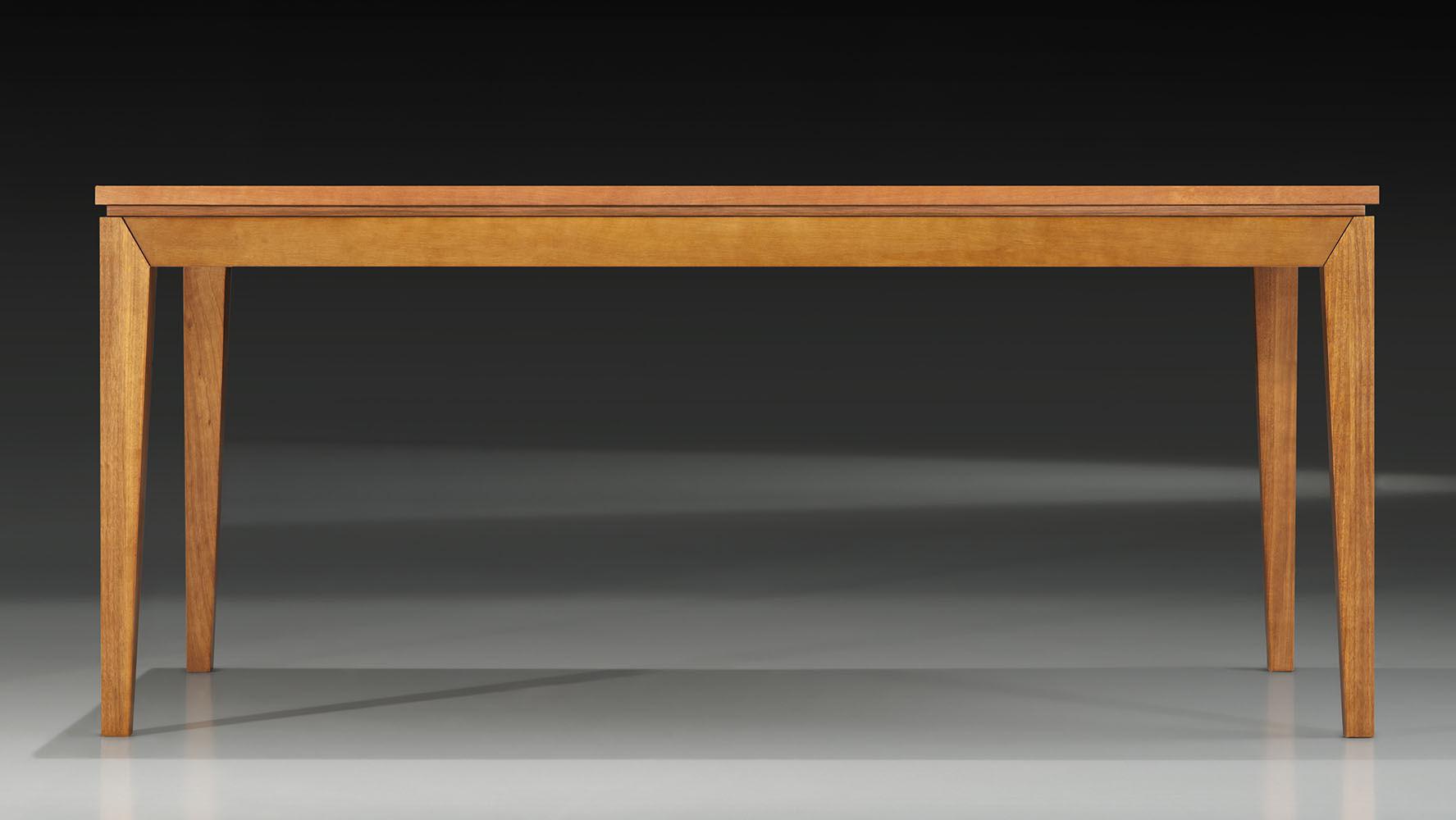 Mesa Jantar Retangular Madeleine Cor Nogal 2,20 MT - 37709