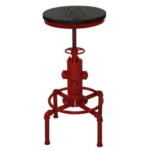 Mesa-Bistro-Industrial-Extintor-Vermelha-50-cm