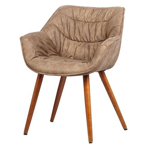 Cadeira-com-Braco-Bumpee-Vintage-Marrom