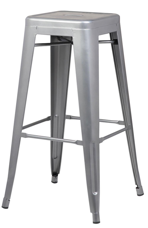 Banqueta Iron Tolix Cinza 77 cm (ALT) - 37980