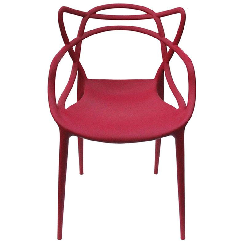 Cadeira-Master-Allegra-Polipropileno-Cereja