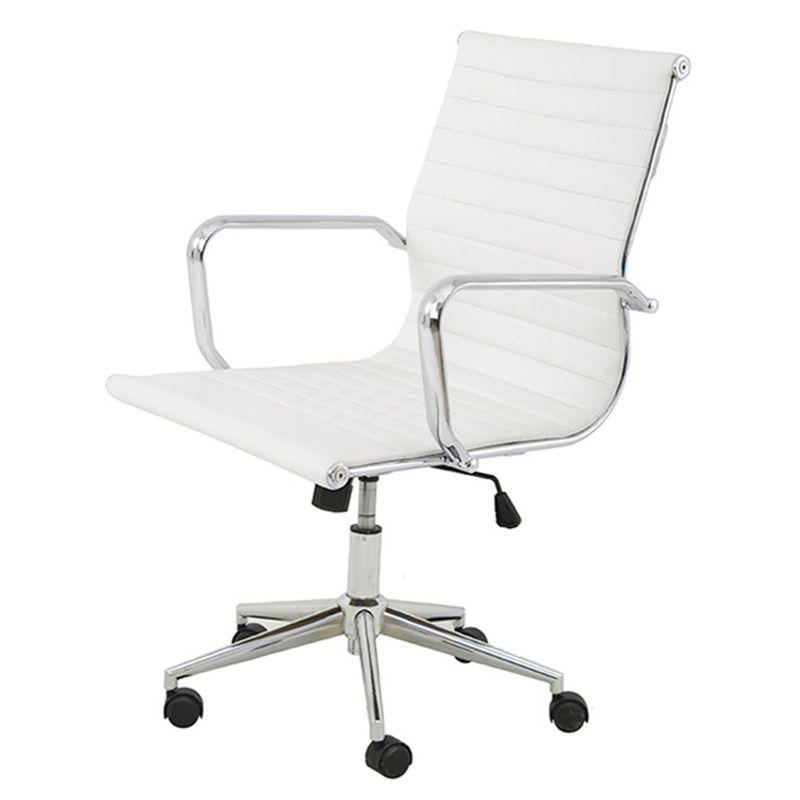 Cadeira-Sevilha-Eames-Baixa-Cromada-PU-Branco