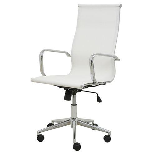 Cadeira-Sevilha-Eames-Alta-Cromada-Tela-Branca