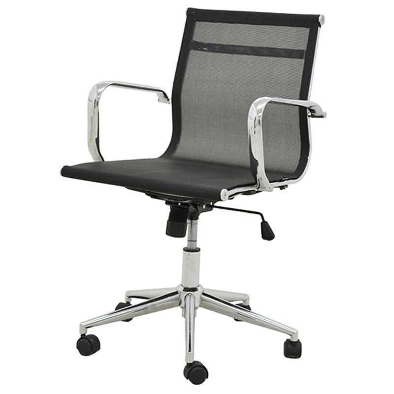 Cadeira-Sevilha-Eames-Baixa-Cromada-Tela-Preta-