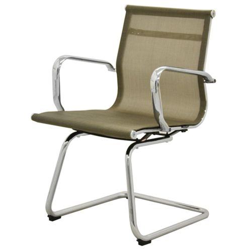 Cadeira-Sevilha-Eames-Fixa-Cromada-Tela-Dourada
