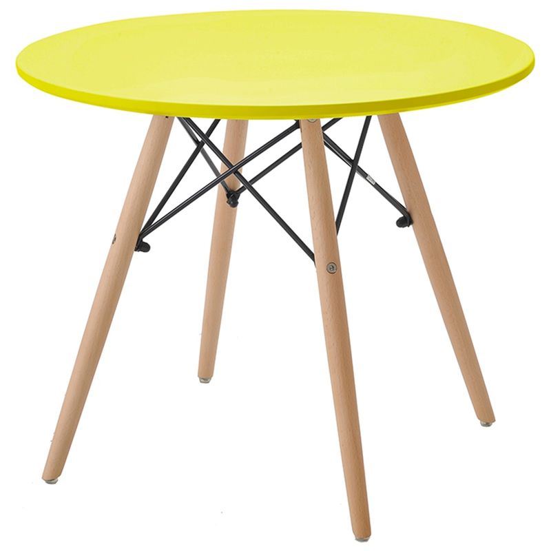 Mesa-INFANTIL-Eames-Eiffel-MDF-Amarela-60-cm--LARG--