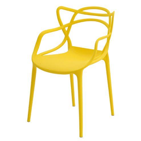 Cadeira-INFANTIL-Allegra-Polipropileno-Amarela-