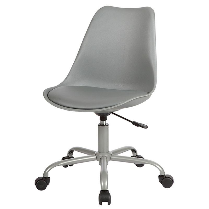 Cadeira-Saarinen-com-Rodizios-PP-Cinza-Base-Aco