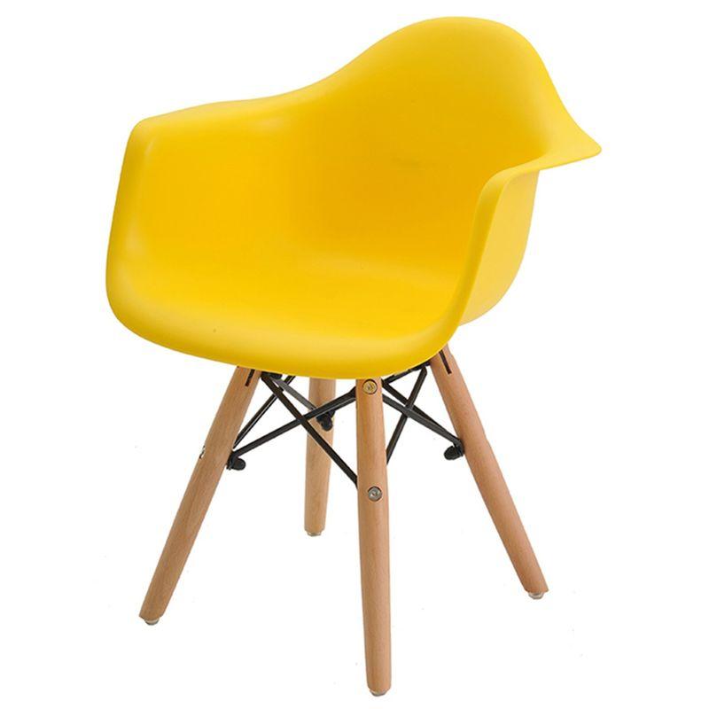 Cadeira-INFANTIL-Eames-Eiffel-com-Braco-PP-Amarelo