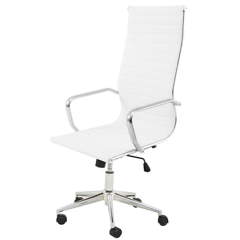 Cadeira-Sevilha-Eames-Alta-PU-Branco-Base-Cromada