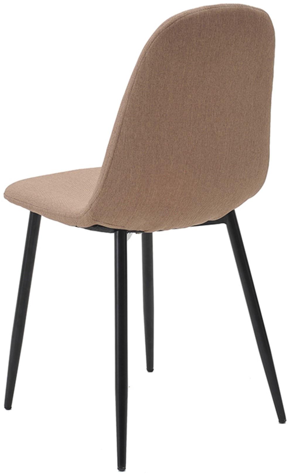 Cadeira Jacob Cor Caqui Pes Palito Metal Preto - 38239