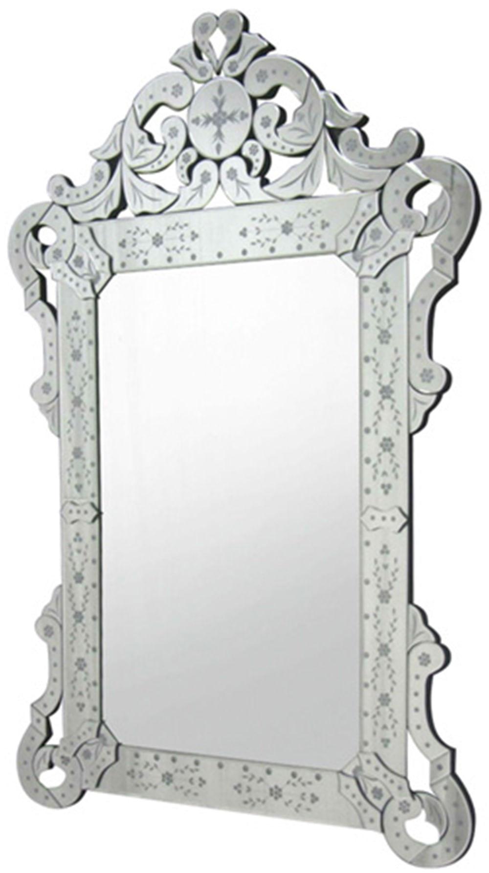 Espelho Veneziano Rainha Cor Prata 1,20 MT (ALT) - 35450