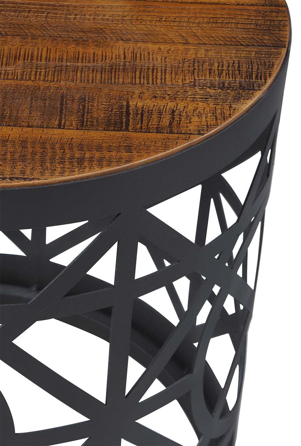 Mesa Apoio Screen Base Aco Cor Grafite 55 cm (LARG) - 38314