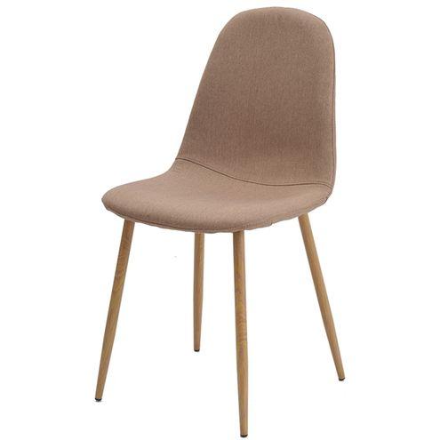 Cadeira-Jacob-Cor-Caqui-Pes-Palito-Madeira-Clara
